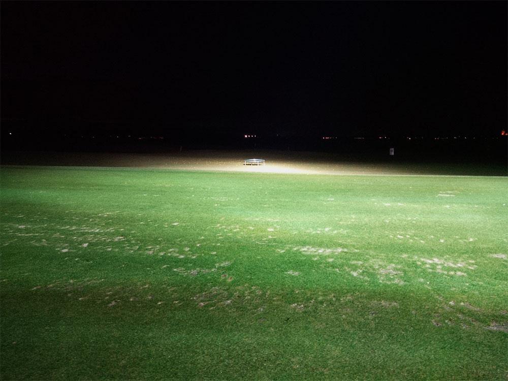Flutlicht-Golf