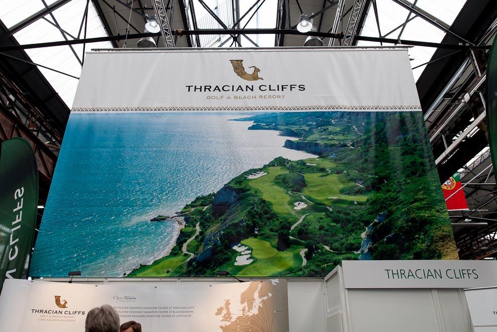 Einer der beeindruckensten Destinationen der Messe. Die Thracian Cliffs mit einem genialen Aufmacherbild.