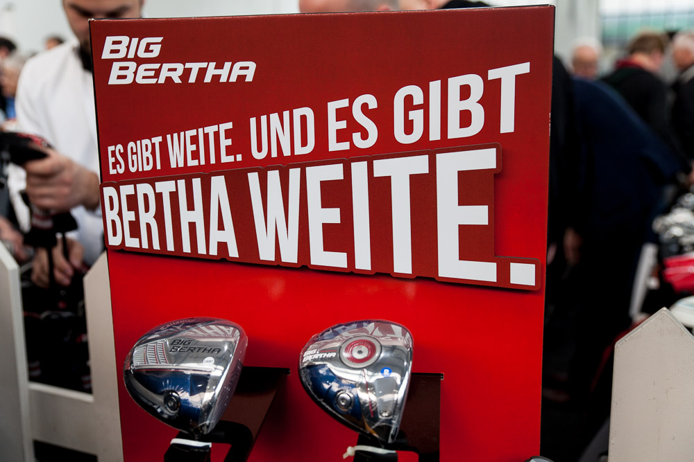 Es gibt Bertha Weite! Bäääm.