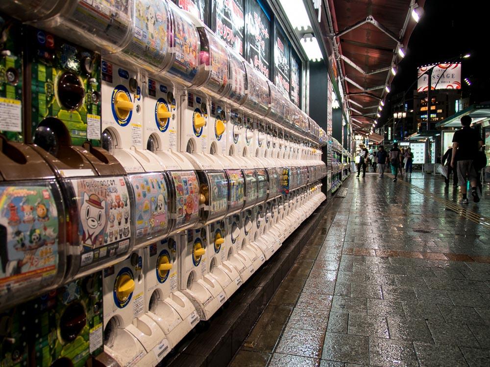 Diese Automaten findet man an vielen Orten. Hätten eigentlich die perfekte Größe für Golfbälle...