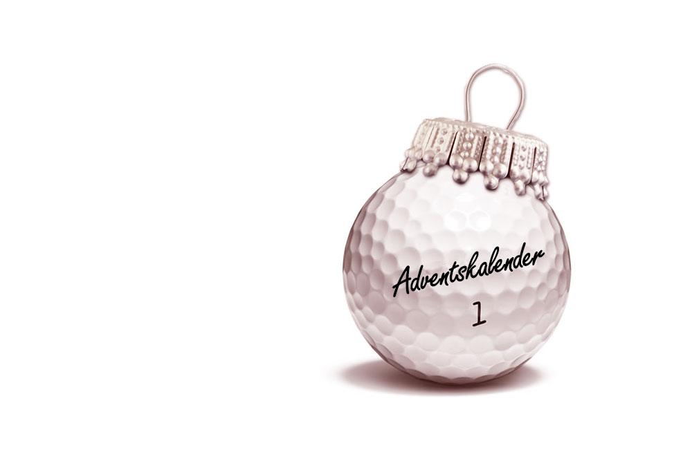 Adventskalender für Golfer