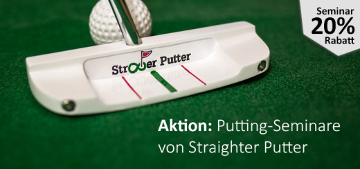 Putting Seminare mit Straighter Putter
