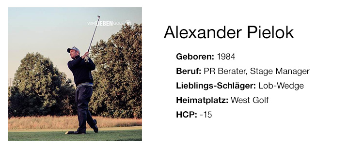 Kurzbio Alex, Wir lieben Golf