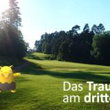 Pokemon Go auf dem Golfplatz - Traumato am Lüderich