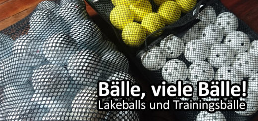Golfball, Golfbälle, Lakeballs, Trainingsbälle, Second Chance