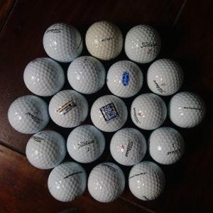 Lakeballs, Golfbälle von Titleist, Golfball
