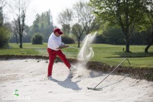 Yeah, Sandbunker. Leid für die Golfer, Freude für den Fotografen. ;)