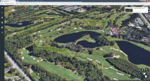 Trump International in Florida. Screenshot © Google INEGI DATA SIO; NOAA; U.S. Navy, NGA, GEBCO Landsat / Copernicus