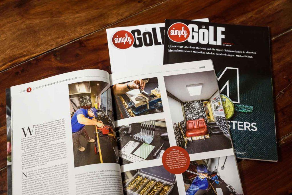 Simply Golf - Vielfalt der Reportagen
