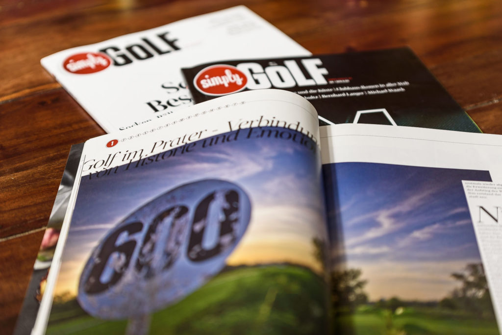 simply golf Golfmagazin