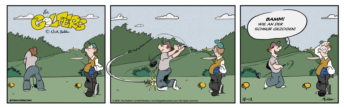 """""""The Golfers"""" - Der Golfcomic von Nick Bohlen"""